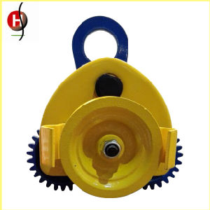 Hot Sale 2t Manual Plainted/Geared Trolley for Chain Block and Electric Chain Hoist pictures & photos