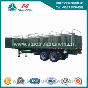 2 Axle 40 Ton Stake Cargo Semi-Trailer pictures & photos