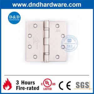 UL Ss304 Door Hinge for Metal Door 4.5X4.5X3.4 2bb pictures & photos