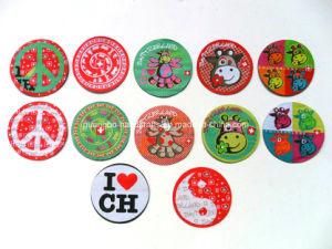 Fancy Cartoon Design Children Wowen Label Clothing pictures & photos