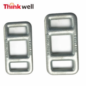 Forged Steel Zinc Galvanized One Way Strap Lashing Buckle pictures & photos