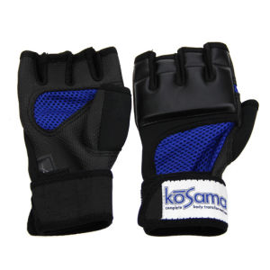 PU Fingerless MMA Gloves for PRO Style MMA Boxing Traning and Competition