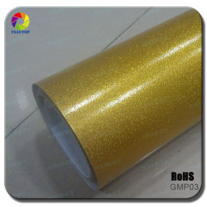 Tsautop Glossy Metalic Pearl Film Car Wraps&Gold pictures & photos
