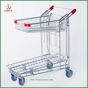Factory Direct Copetitive Price Cargo Cart Trolley (JT-E12) pictures & photos