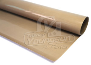 High Heat Resist Brown Color PTFE Sheet pictures & photos