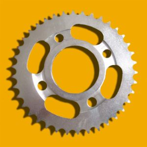 High Quality Steel Motorcycle Sprocket for Motorcycle Part pictures & photos