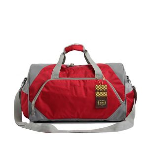 Custom Made High Quality Nylon Polyester Sports Duffel Travel Bag