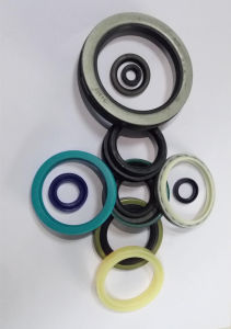 Silicone Rubber Oil Seal Mechanical Hydraulic Seal pictures & photos