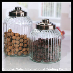 3000ml Big Glass Storage Jar with Plastic Lid pictures & photos