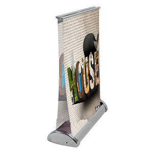 Double Mini Table Top Advertising Banner Stand (A3 Double) pictures & photos