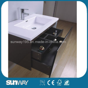 2016 New Hot Selling Modern Bathroom Vanity with Mirror Cabinet pictures & photos