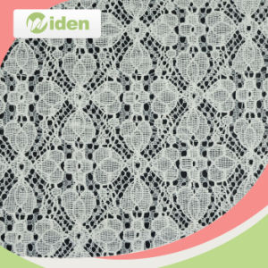 150cm New Design Nylon and Cotton Net Lace Fabric pictures & photos