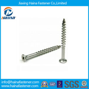 Stainless Steel 304 316 Square Drive Deck Screw Wood Screw pictures & photos