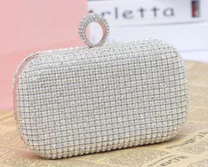 New Designer Handbag Luxury Full Diamond Evening Cultch Bag (XW717) pictures & photos