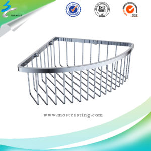 Bathroom Accessories Mirror Shower Basket of Stainless Steel pictures & photos