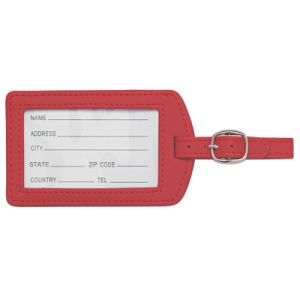 Wholesale Rubber Silicone Luggage Tag with Printing Custom Logo pictures & photos