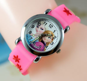Children Watch with 3D Silicone Watchband pictures & photos