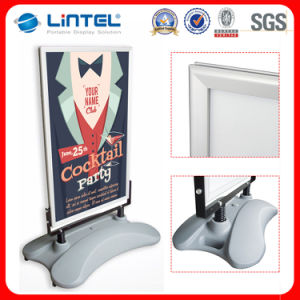 A0 Double Sided Display Sign Aluminum Pavement Sign pictures & photos