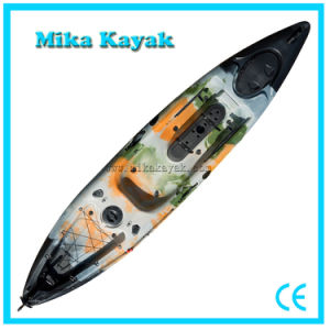 Plastic Boat Pedal Kayak Fishing Canoe for Sale pictures & photos