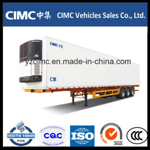 Cimc 3 Axle Refrigerated Cargo Trailer pictures & photos