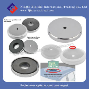 Rubber Cover for Round Base Magnet / Magnet Cups / Rubber Protective Cover
