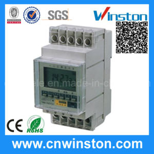 Ahc8a Digital Programmable DIN Rail Time Switch with CE pictures & photos