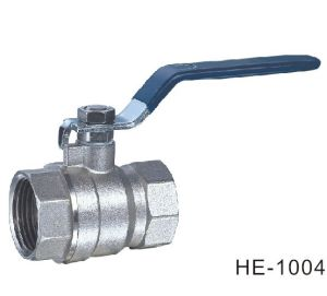 (HE1004--HE1005) Brass Ball Valve Pn16-Pn32 with Level Handle for Water, Oil pictures & photos