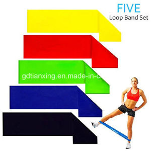 Resistance Band Kit Is Perfect for Leg, Ankle, Arm and Body Workout pictures & photos