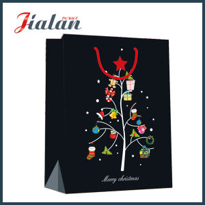Black Color Christmas Shopping Bag pictures & photos
