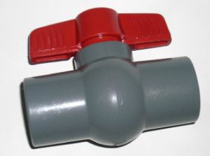 "Pure New Material UPVC Ball Valve 1/2""-6"" pictures & photos"