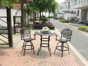 Practical Amalfi 3 Piece Bar Set Furniture for Outdoor pictures & photos