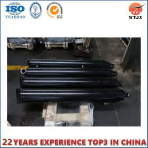 North American Type Telescopic Hydraulic Cylinder for Truck Body Manufacturer pictures & photos