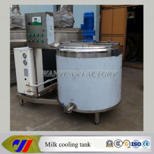 Horizontal Type Milk Cooling Tank Milk Refrigeration Equipment pictures & photos