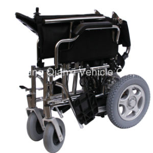 Smart Electric Folding Elderly or Invalid Wheelchair (XFG-103FL) pictures & photos