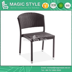 Garden Chair Stackable Chair Rattan Chair Wicker Outdoor Chair Patio Dining Chair (Magic Style) pictures & photos