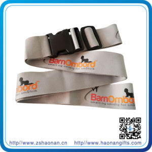 Promotion Gift Adjustable PP Baggage Belt with Detachable Buckle (HN-LE-002) pictures & photos