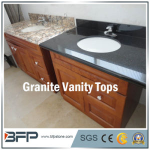 Granite for Bathroom Vanity Top with Polished Treatment pictures & photos