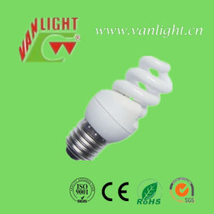 Compact T2 Full Spiral 5W CFL, Energy Saving Light
