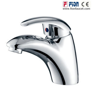 Good Quality Single Lever Washbasin Mixer Basin Faucet (F-102) pictures & photos