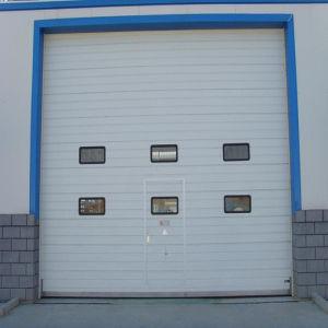 Safely Automatic Sectional Industry Garage Door/ Industrial Overhead Door (HF-003) pictures & photos