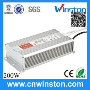 Lpv-200 AC-DC Waterproof LED Power Supply with Ce pictures & photos