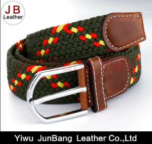 2016 Men Pin Buckle Polyester Braid Belt pictures & photos