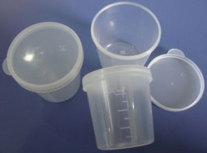 CE and FDA Certificated Sputum Container 25ml, 30ml, 40ml pictures & photos
