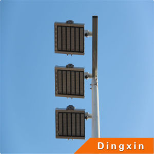 Soccer Ground 15m LED High Mast Lighting with 3PCS 180W LED Flood Lamp pictures & photos