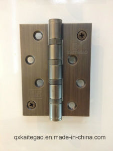 "Stainless Steel Door Hinge for Wooden Door (4""X3""X3.0mm-4BB/2BB) pictures & photos"