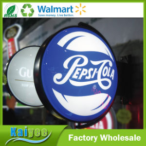 Wholesale Custom Different Size Outdoor Stereo Rotating LED Light Box pictures & photos