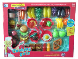 Kitchen Cooking Cutting Food Play Toys for Kids pictures & photos