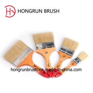 Plastic Bristle Paint Brush (HYP002) pictures & photos