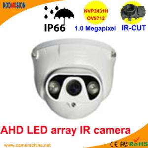 50m LED Array IR Dome 1.0 Megapixel Ahd Camera pictures & photos