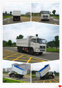 Dongfeng Dalishen 6*4 290HP Electric Dump Truck (CLW3904) pictures & photos